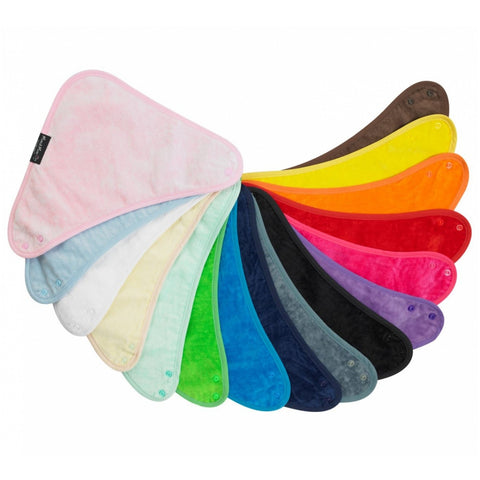 Bandana Wonder Bib All Colours Fan Flat