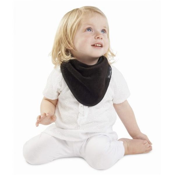 Bandana Wonder Bib Chocolate Brown Insitu