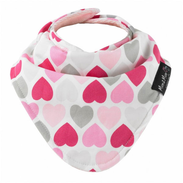 SQUARE Fashion Pink Hearts Worn