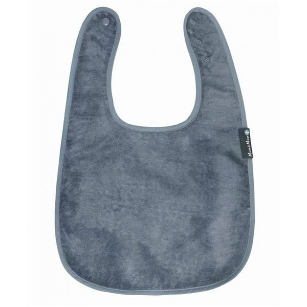 Adult Back Opening Apron Grey Flat