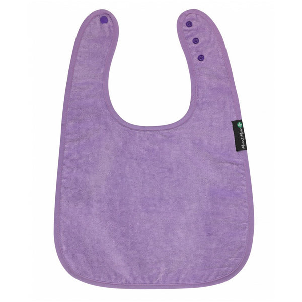 Adult Back Opening Apron Purple Flat