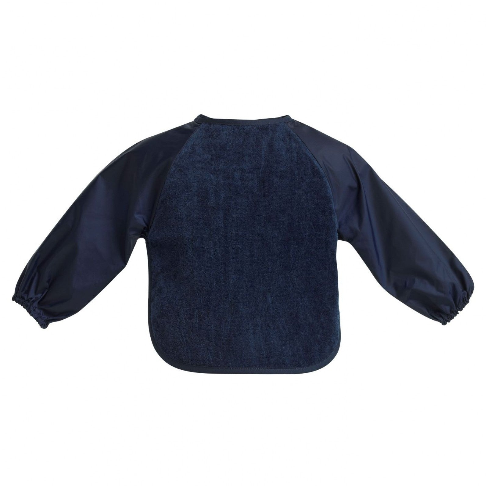Sleeved Wonderbib Navy Blue Worn