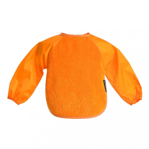 Sleeved Wonderbib Orange Worn