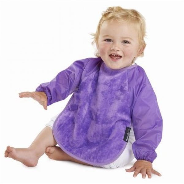 Sleeved Wonderbib Purple Insitu