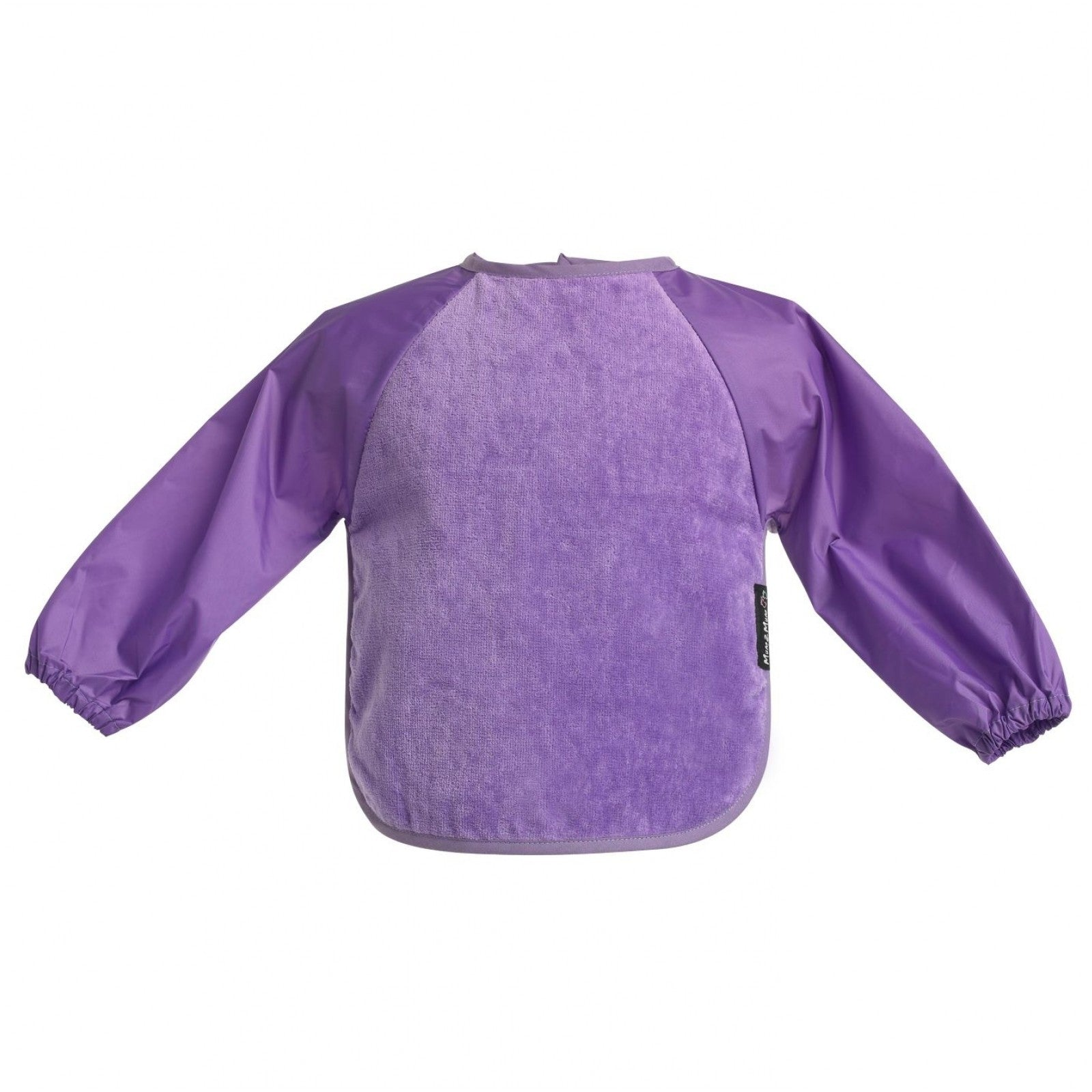 Sleeved Wonderbib Purple Worn