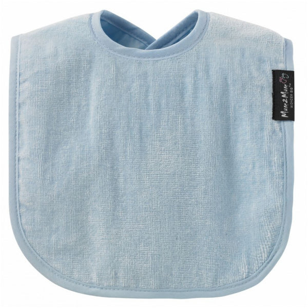 Standard Wonderbib Baby Blue Worn