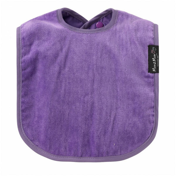 Standard Wonderbib Purple Worn