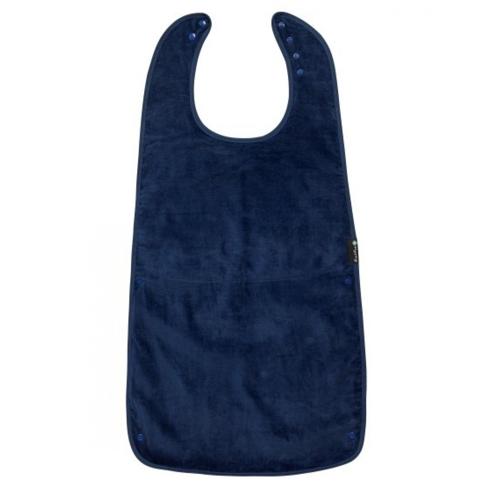 Supersized Feeding Apron Navy Blue Special Needs