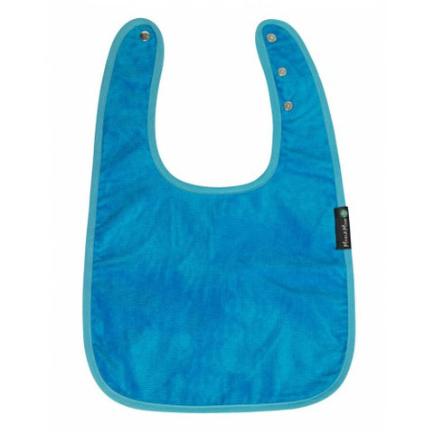 Adult Back Opening Apron Teal Flat