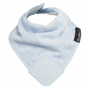 Teething Bandana Wonder Bib Baby Blue