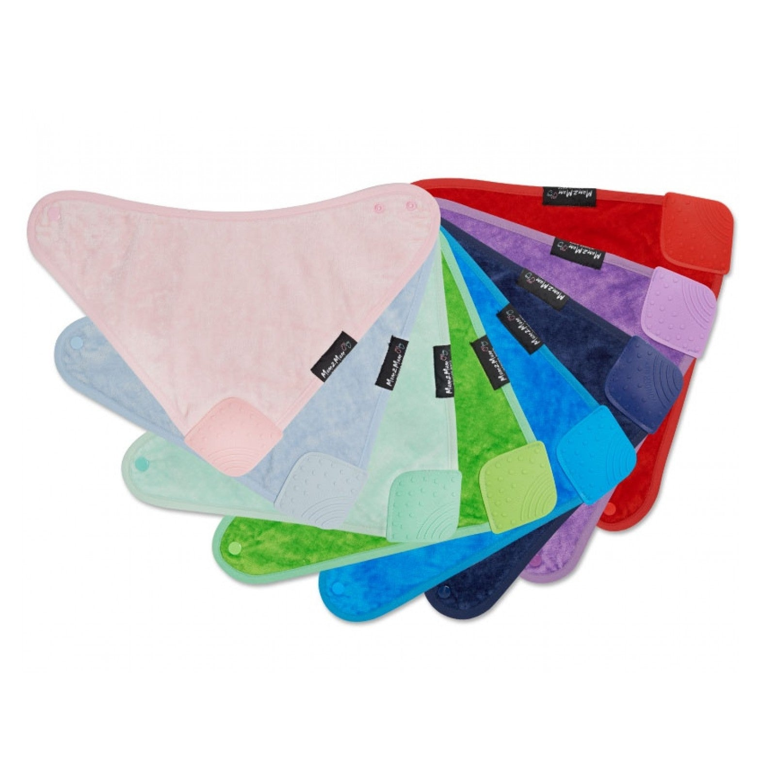 Teething Wonderbib Silicone All colours