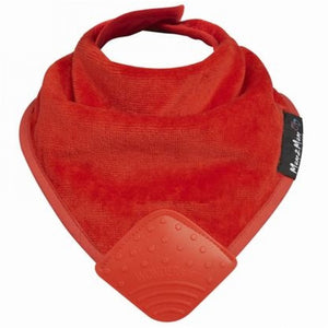 Mum 2 Mum Teething Bandana Wonder Bib Red