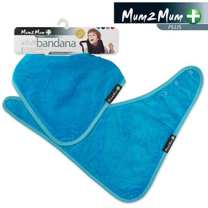 Adult Bandana Wonder Bib Teal Packaging
