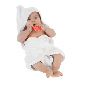 Mum 2 Mum Hooded Towel White