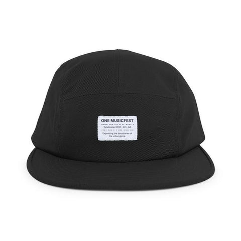 OMF Patch Hat - Black