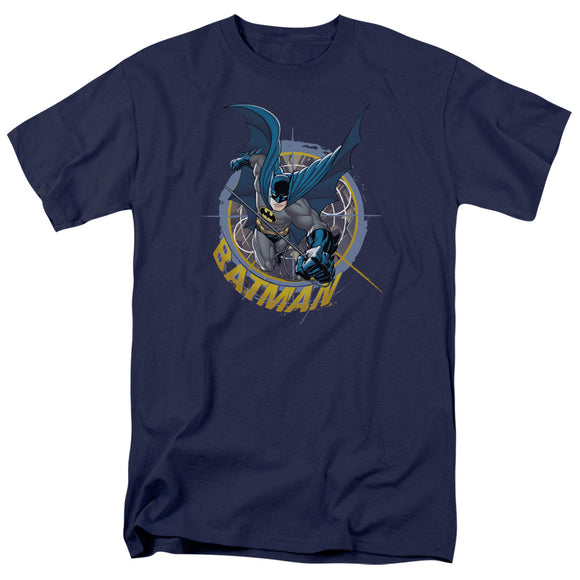 Batman In The Crosshairs of Danger Short Sleeve T-Shirt Adult Unisex DC Comics