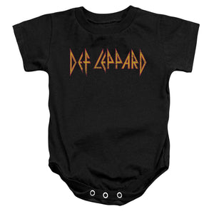 Def Leppard Horizontal Logo Infant Snapsuit Onesie Baby Toddler