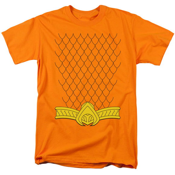 Aquaman Costume Short Sleeve T-Shirt Adult Unisex DC Comics
