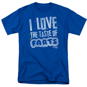 Farts Candy I Love The Taste Short Sleeve T-Shirt Adult Unisex Royal Blue