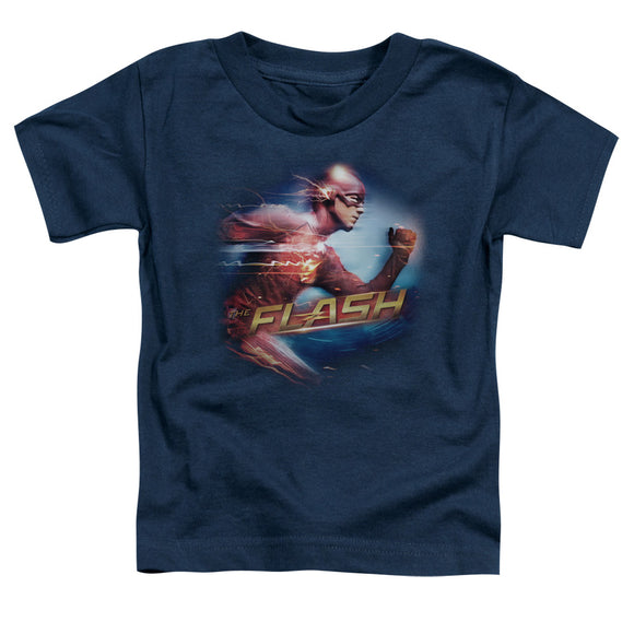 The Flash Fastest Man Alive Short Sleeve Toddler T-Shirt Superhero