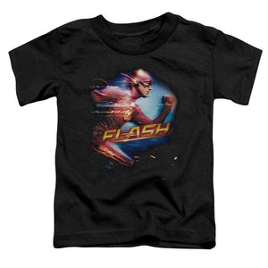 The Flash Barry Allen Short Sleeve Toddler T-Shirt Fastest Man Alive