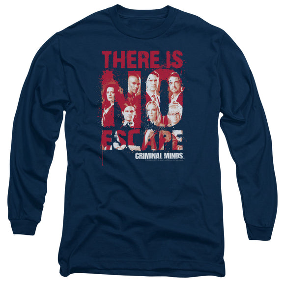 Criminal Minds There Is No Escape Long Sleeve T-Shirt Adult Unisex