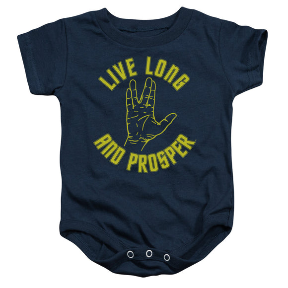 Star Trek Live Long And Prosper Infant Snapsuit One-Piece Baby Toddler