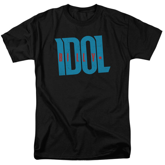 Billy Idol Logo Short Sleeve T-Shirt Adult Unisex 80's Music Singer Fans