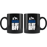 A Boxer Is My BFF Ceramic Mug 11oz Coffee Cup Double Sided Print