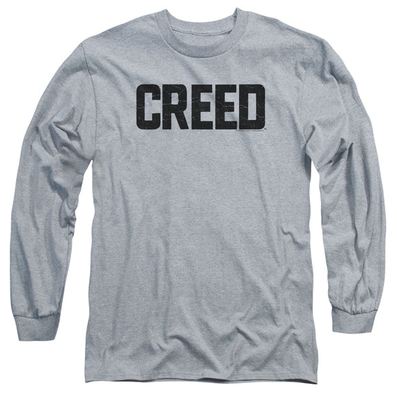 Creed Cracked Logo Long Sleeve T-Shirt Adult Unisex Hit Movie