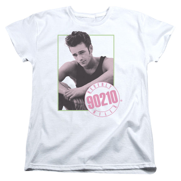 90210 Dylan Short Sleeve Women's T-Shirt Luke Perry