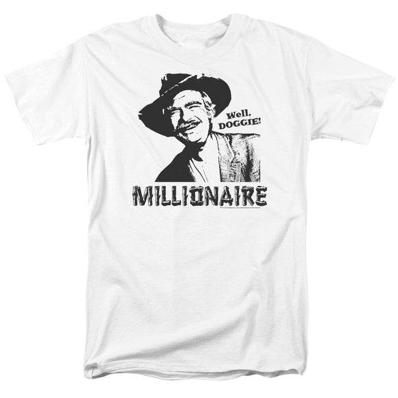 The Beverly Hillbillies Millionaire Short Sleeve T-Shirt Adult Jed Clampett