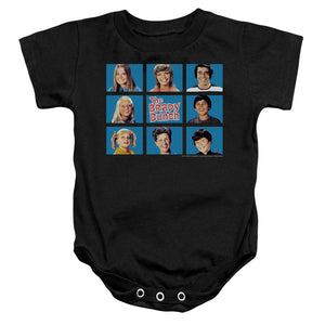The Brady Bunch Family Grid Infant Snapsuit One-Piece Baby Toddler Unisex