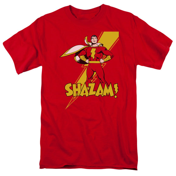 DC Comics Shazam! Short Sleeve T-Shirt Adult Unisex Superhero Fan