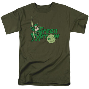 DC Comics Green Arrow Short Sleeve T-Shirt Adult Unisex Fandom
