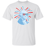 George Washington Short Sleeve T-Shirt Adult Unisex Cotton 4th of July