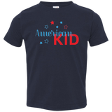 American Kid Short Sleeve Toddler T-Shirt Boys and Girls Multiple Colors