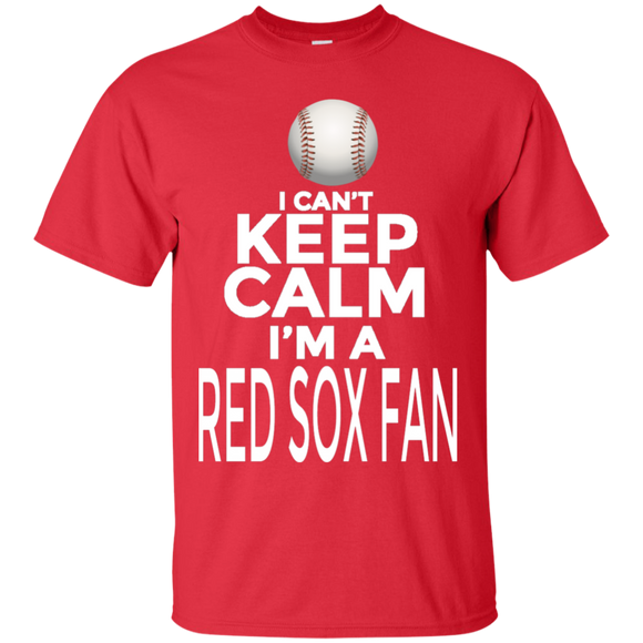 I'm A Red Sox Fan Short Sleeve T-Shirt Adult Unisex Boston MLB