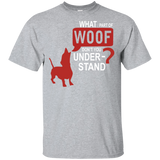 What Part Of Woof Short-Sleeve Unisex T-Shirt Adults Dog Lovers Men Women