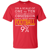 My Obsession With Football Short Sleeve T-Shirts Adult Unisex Fandom
