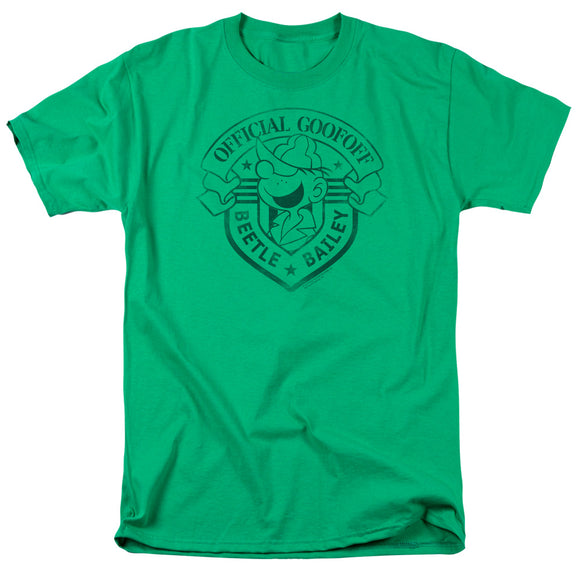 Beetle Bailey Official Badge Short Sleeve T-Shirt Unisex Popular Comic Strip