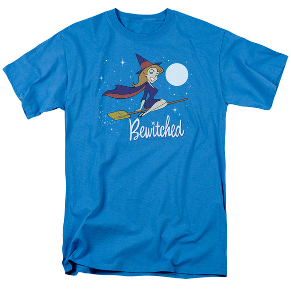 Bewitched Moonlight Short Sleeve T-Shirt Adult Unisex Samantha Stephens