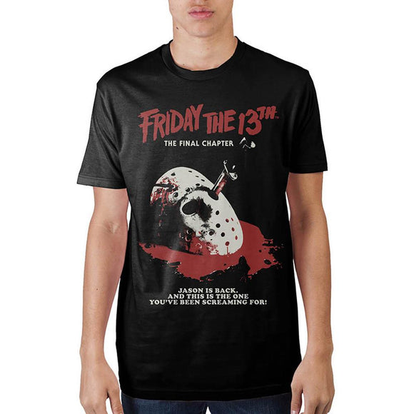 Friday The 13th The Final Chapter Short Sleeve T-Shirt Unisex Jason