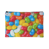 Jelly Beans Print Accessory Pouches Makeup Toiletries Colorful Graphics Small or Large