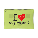 I Heart My Mom Smile Accessory Pouches Makeup Toiletries Travel Bags