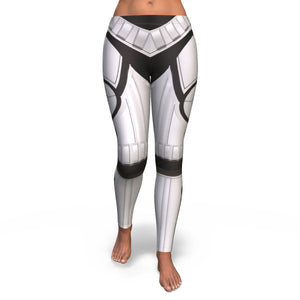 Storm Trooper Inspired All Over Print Leggings Women Sublimation Printing