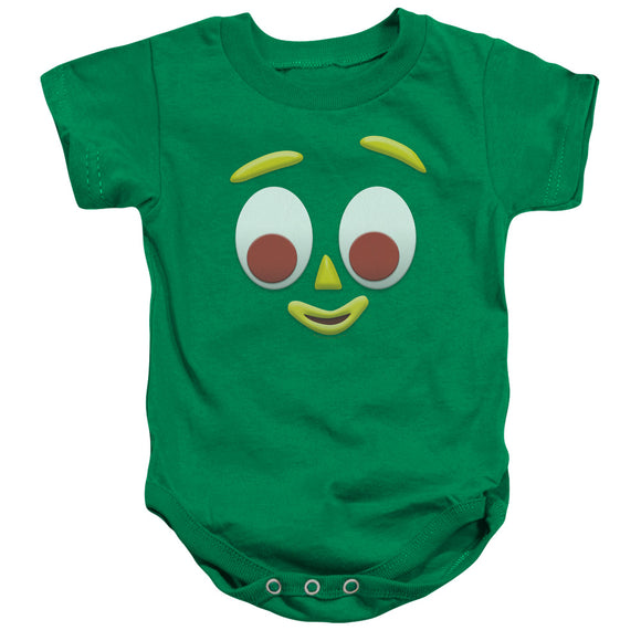 Gumby Is Me Infant Snapsuit Onesie Baby Toddler Unisex Green