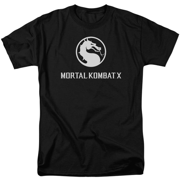 Mortal Kombat X Dragon Logo Short Sleeve T-Shirt Adult Unisex