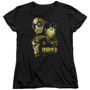 Hellboy II The Golden Army Ungodly Creatures Short Sleeve Women's T-Shirt