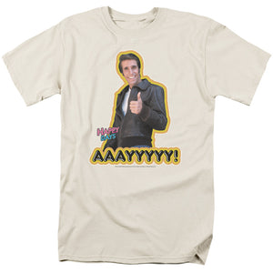 Happy Days The Fonz Aaayyyyy Short Sleeve T-Shirt Adult Unisex